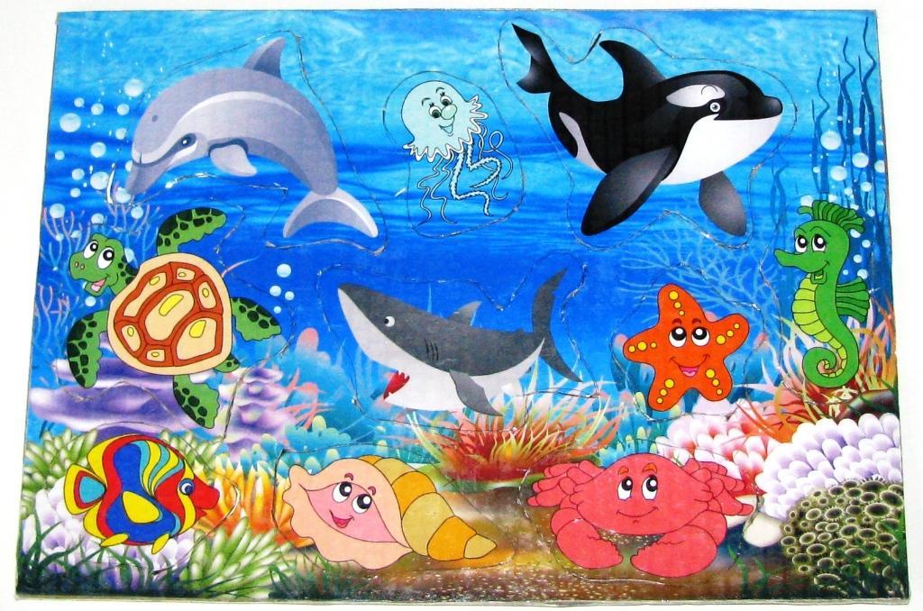 472Морские рисунки для детей