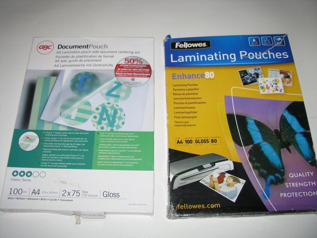 Плёнка для ламинирования в домашних условиях 399