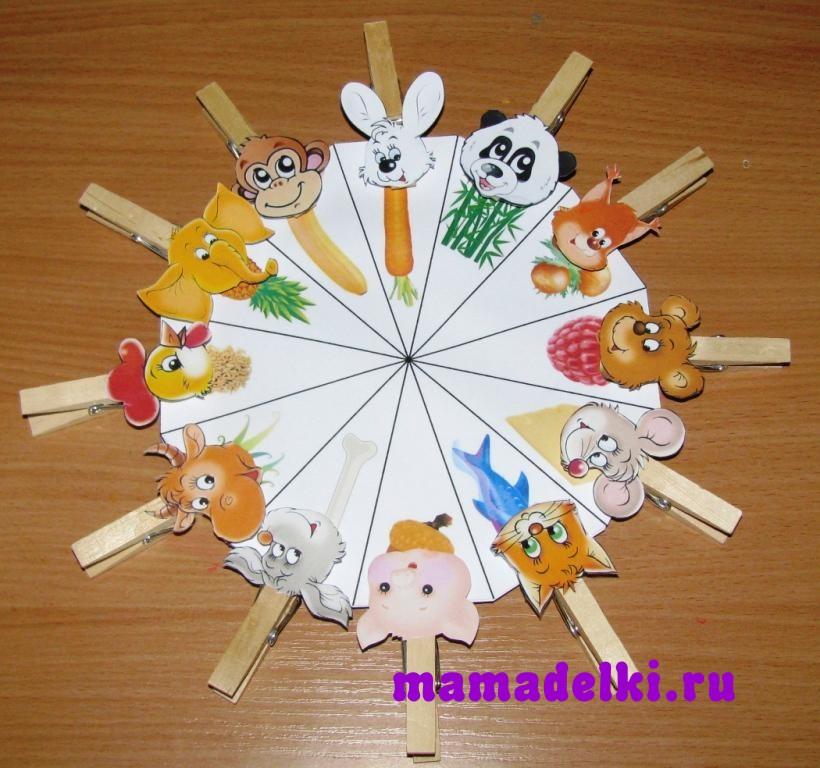 Игрушки для 1 младшей группы