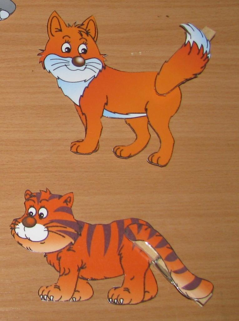 рисунки животные наклейки