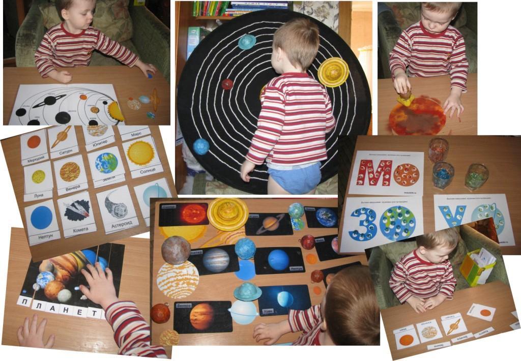 Карточки планеты солнечной системы для детей