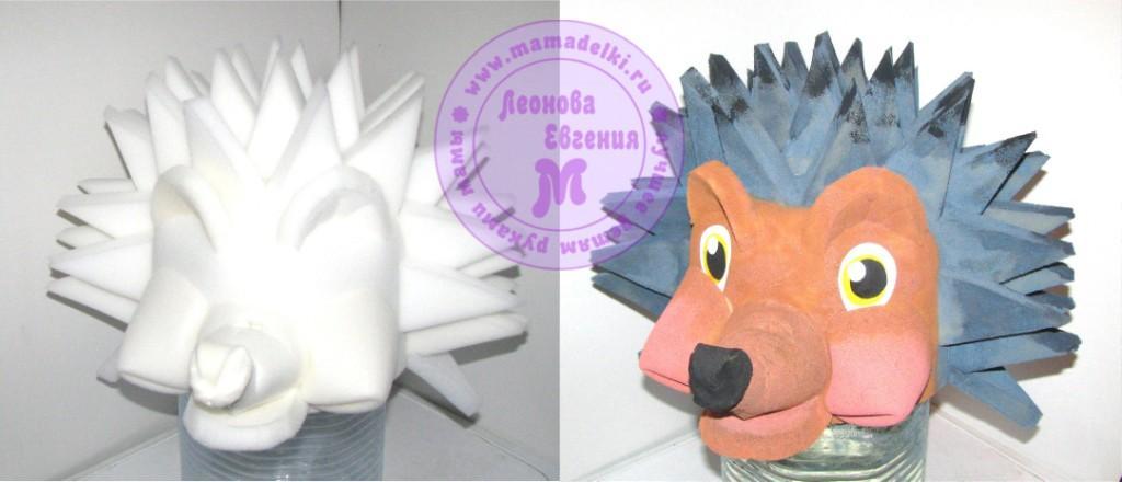 maski-iz-porolona-ezhik